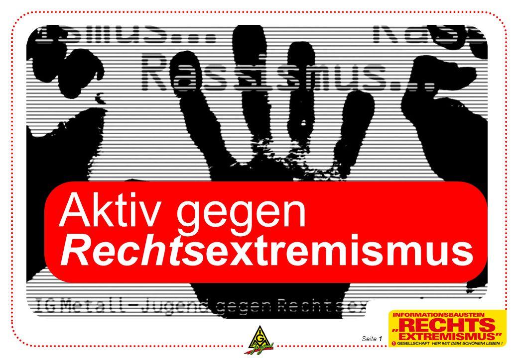 Aktiv gegen Rechtsextremismus Seite 1