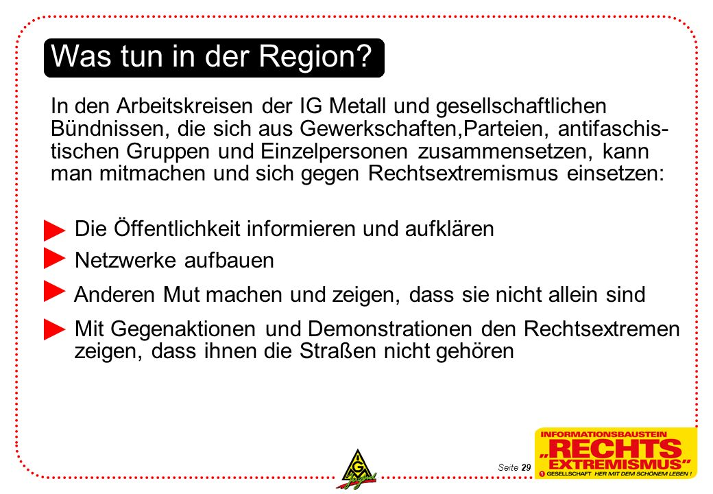 Was tun in der Region.
