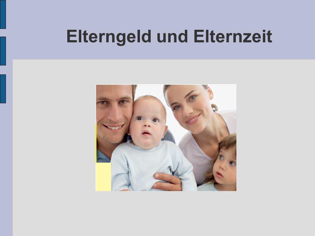 Für Geburten ab 1.Januar 2007 tritt das Elterngeld an die Stelle des bisherigen Erziehungsgeldes.