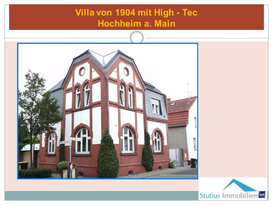 Villa von 1904 mit High - Tec Hochheim a. Main
