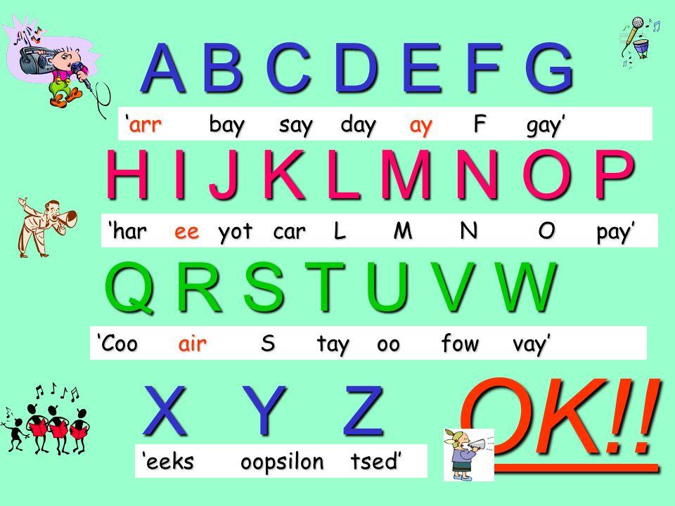 das ist day / o / air / air my first name is …… (Anke) das ist arr / n / car / ay that is …… A / N / K / E Mein Vorname ist ………(Anke) My surname is ……