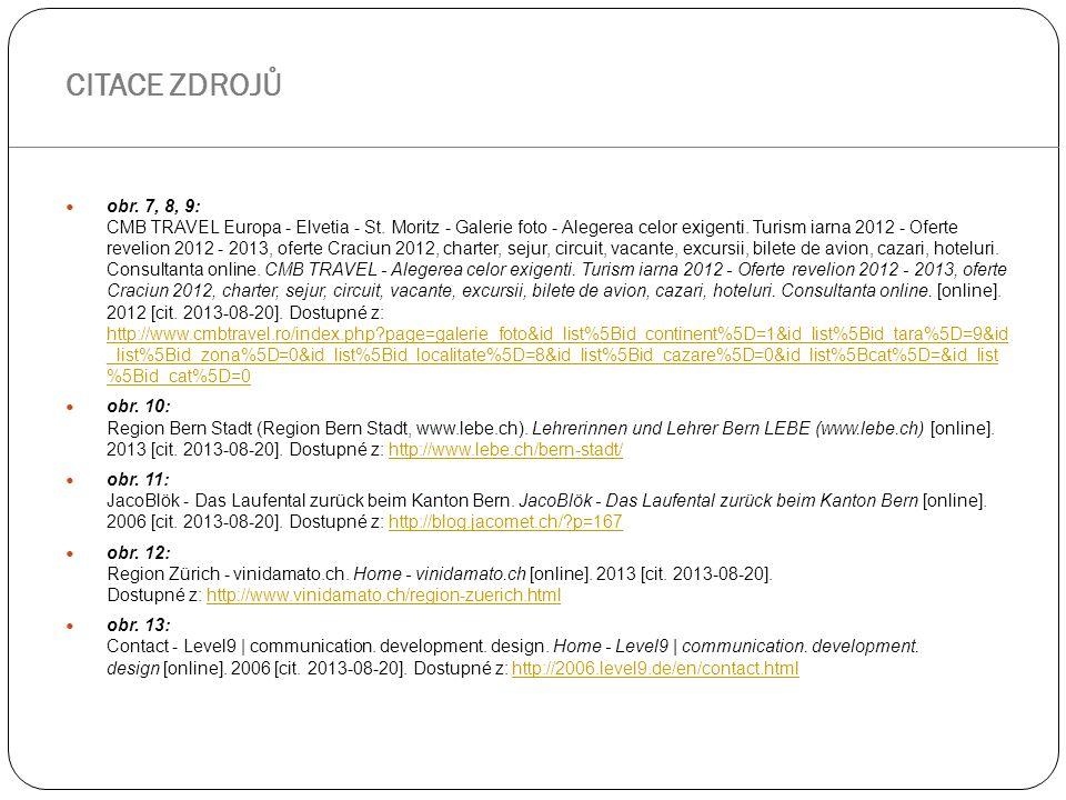obr.7, 8, 9: CMB TRAVEL Europa - Elvetia - St. Moritz - Galerie foto - Alegerea celor exigenti.