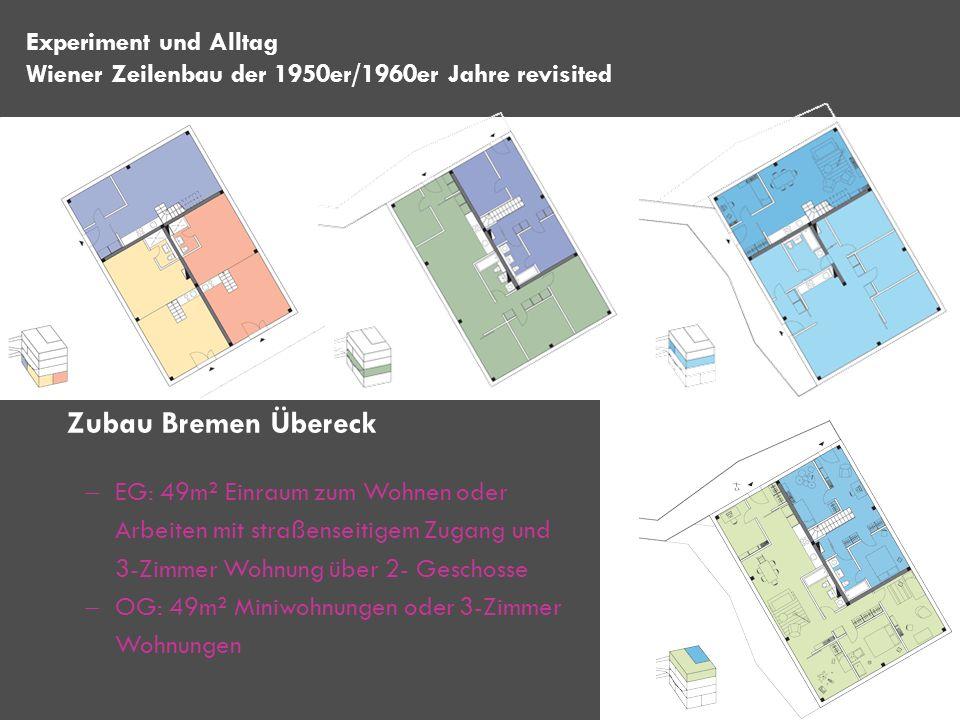 EG: 49m² Einraum zum Wohnen oder Arbeiten mit straßenseitigem Zugang und 3-Zimmer Wohnung über 2- Geschosse OG: 49m² Miniwohnungen oder 3-Zimmer Wohnu