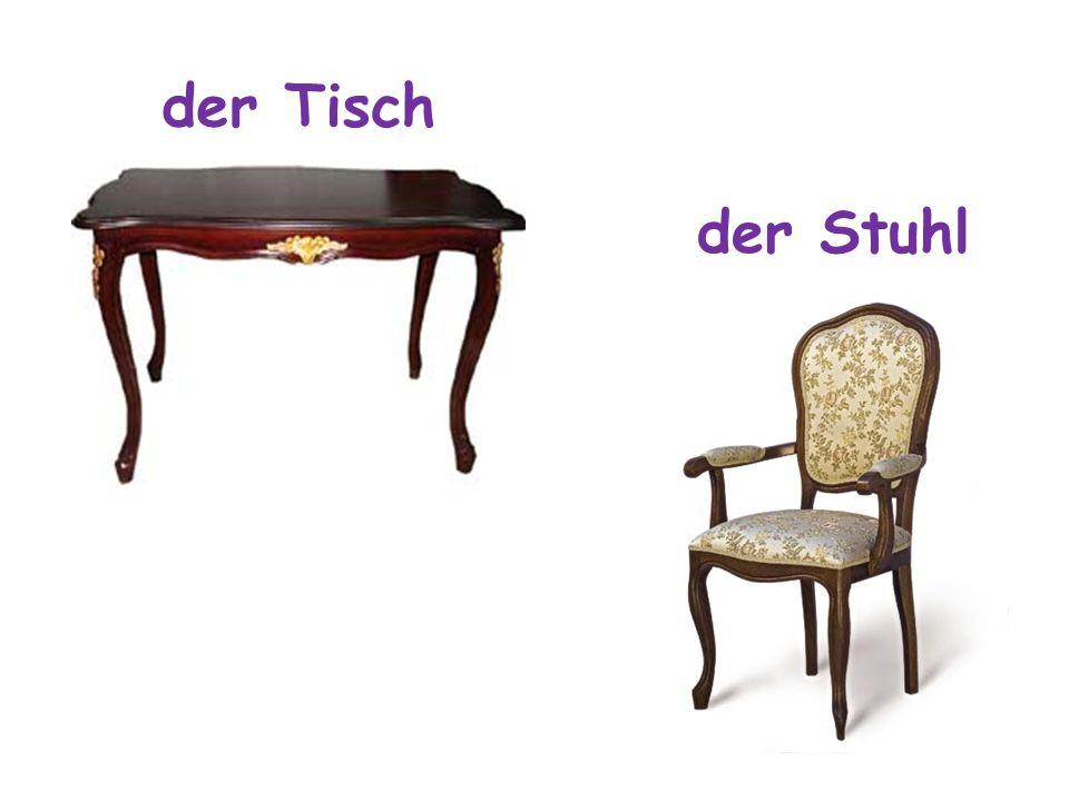 das Bett das Sofa der Sessel