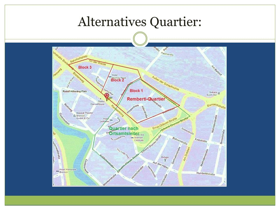 Alternatives Quartier: