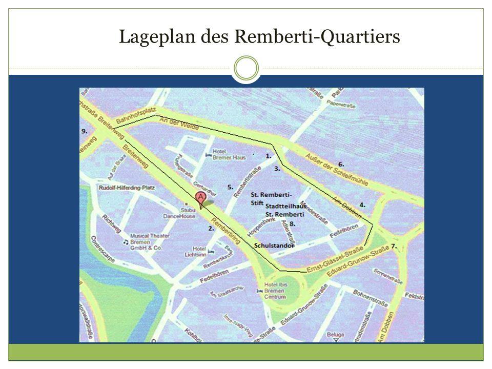Lageplan des Remberti-Quartiers