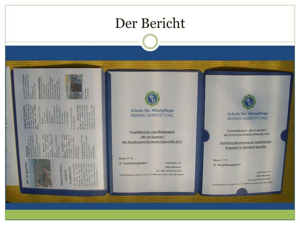 Gruppe 1: Bevölkerungsstruktur/Politik/Stadtteilentwicklung.