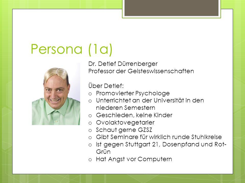 Persona (1a) Dr.