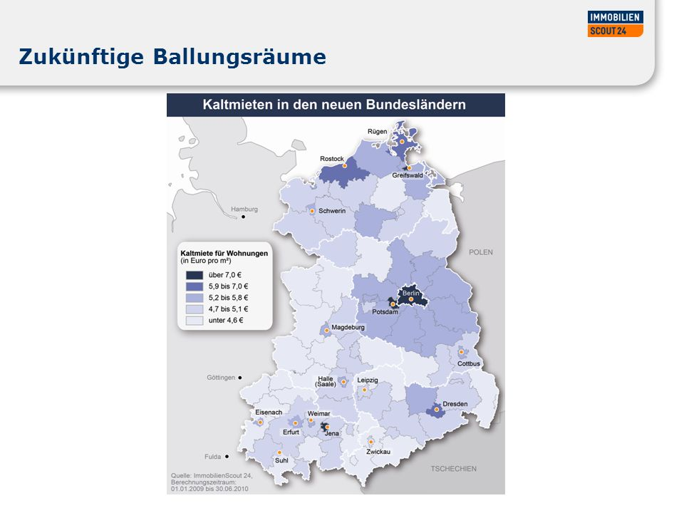 Mietentwicklung Bremen