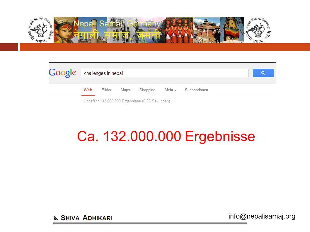 info@nepalisamaj.org Ca. 132.000.000 Ergebnisse