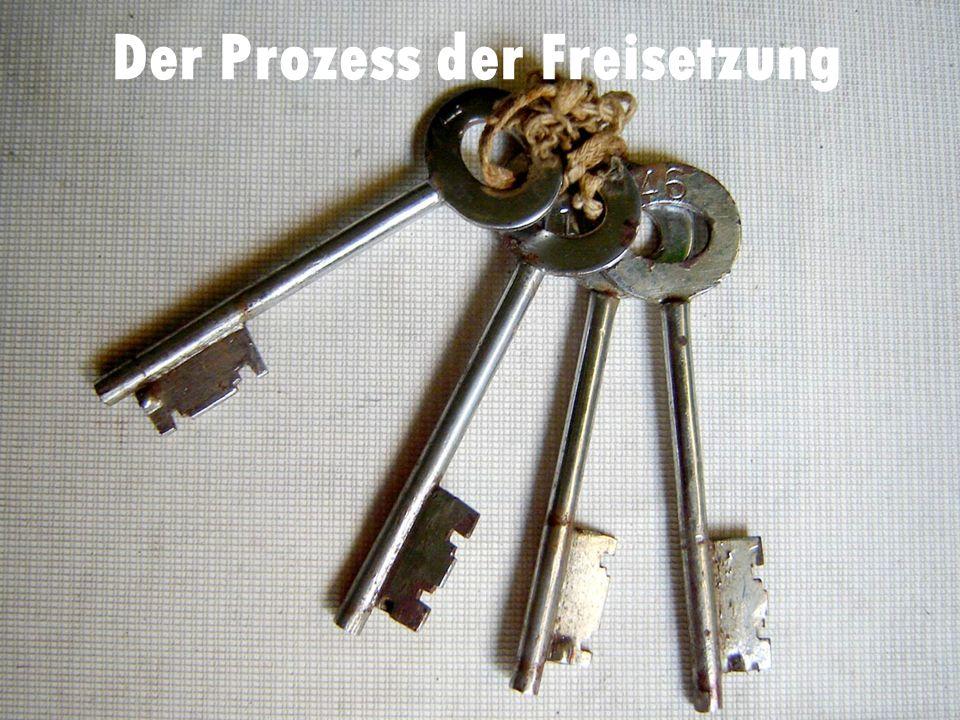Der Prozess der Freisetzung