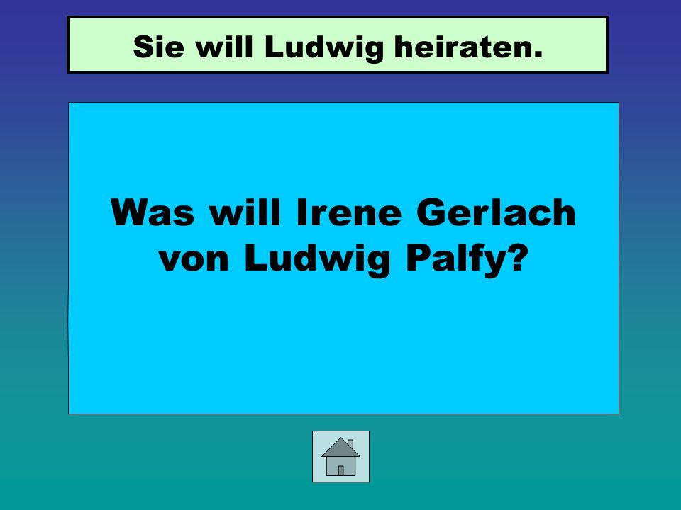 Wer ist Herr Gabele und was ist er von Beruf? Herr Gabele ist der Nachbar von Ludwig Palfy in Wien. Er ist Maler.