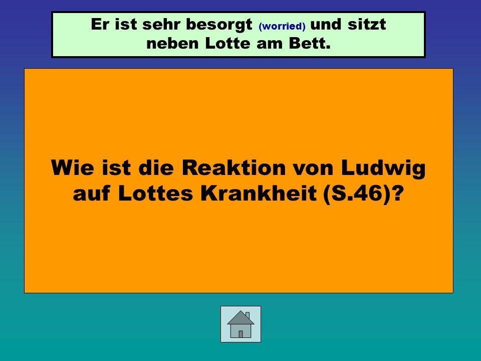 Sie wird krank (Nervenfieber). Was passiert mit Lotte nach ihrem Besuch bei Irene Gerlach?
