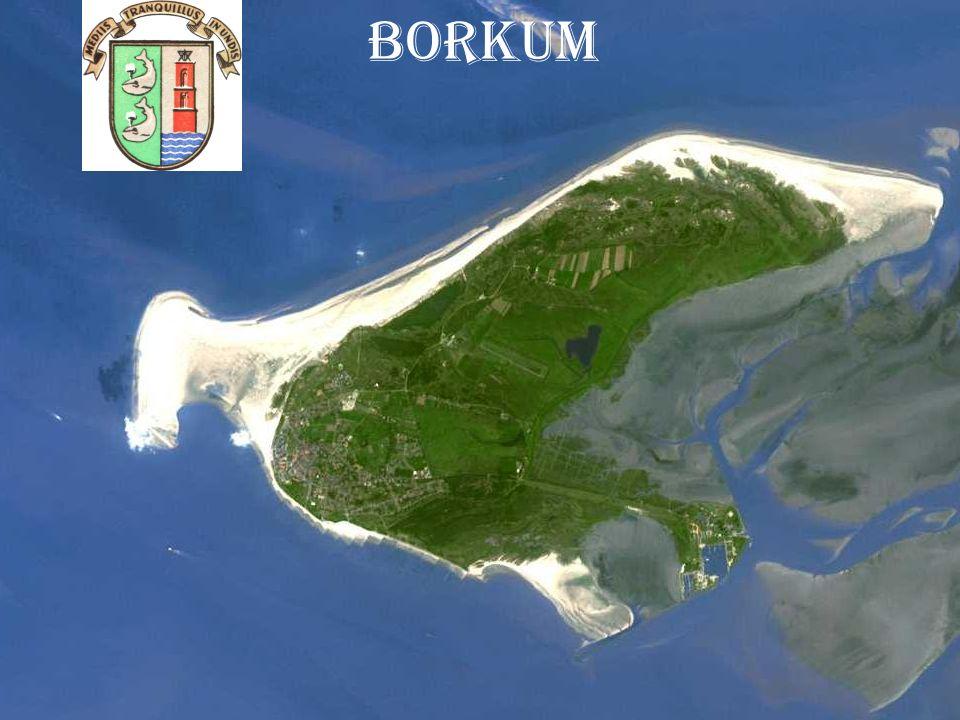 Infos über die insel Borkum ist die westlichste und mit knapp 31 km² die größte der sieben bewohnten Ostfriesischen Inseln.