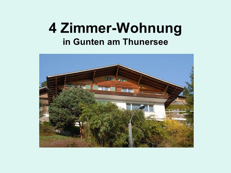 4 Zimmer-Wohnung in Gunten am Thunersee