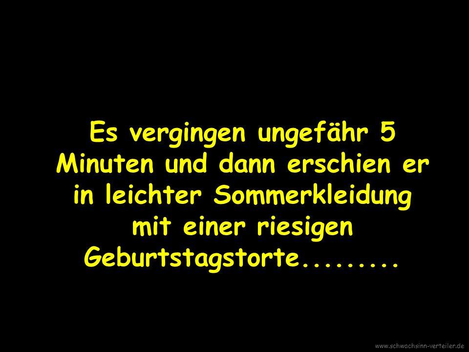 Kein Problem , sagte ich verheißungsvoll und fuhr erwartungsvoll fort: Die Wohnung is Deine... www.schwachsinn-verteiler.de