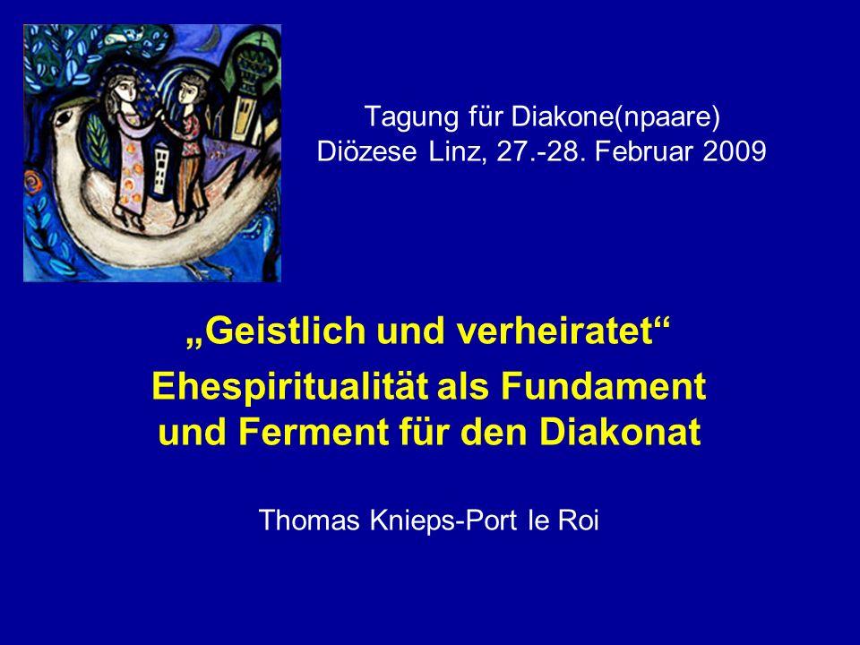 Tagung für Diakone(npaare) Diözese Linz, 27.-28.