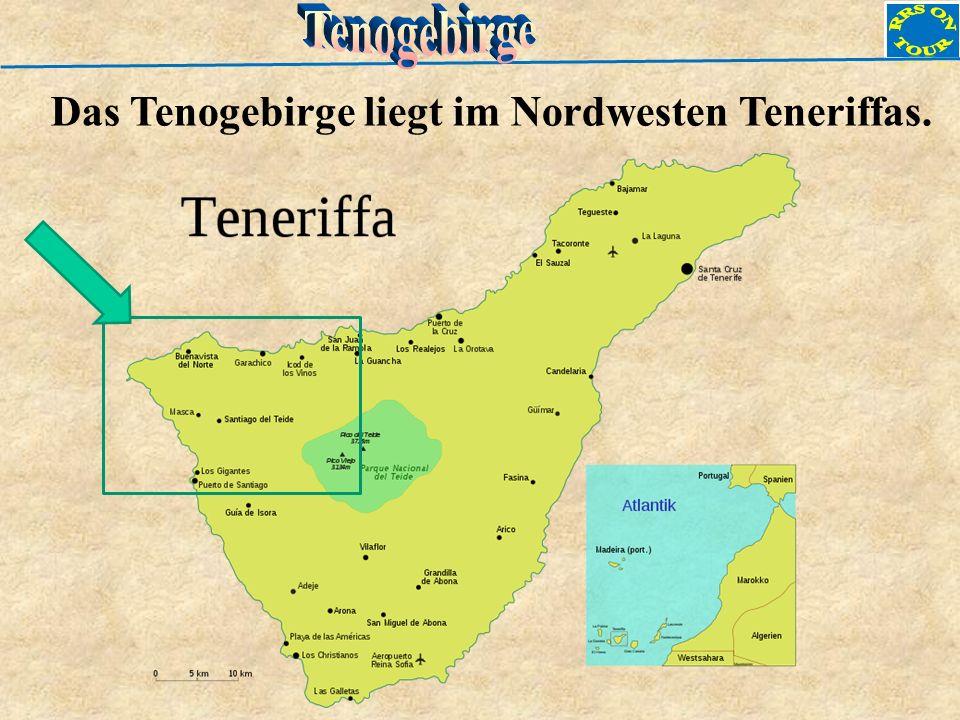 Das Tenogebirge liegt im Nordwesten Teneriffas.