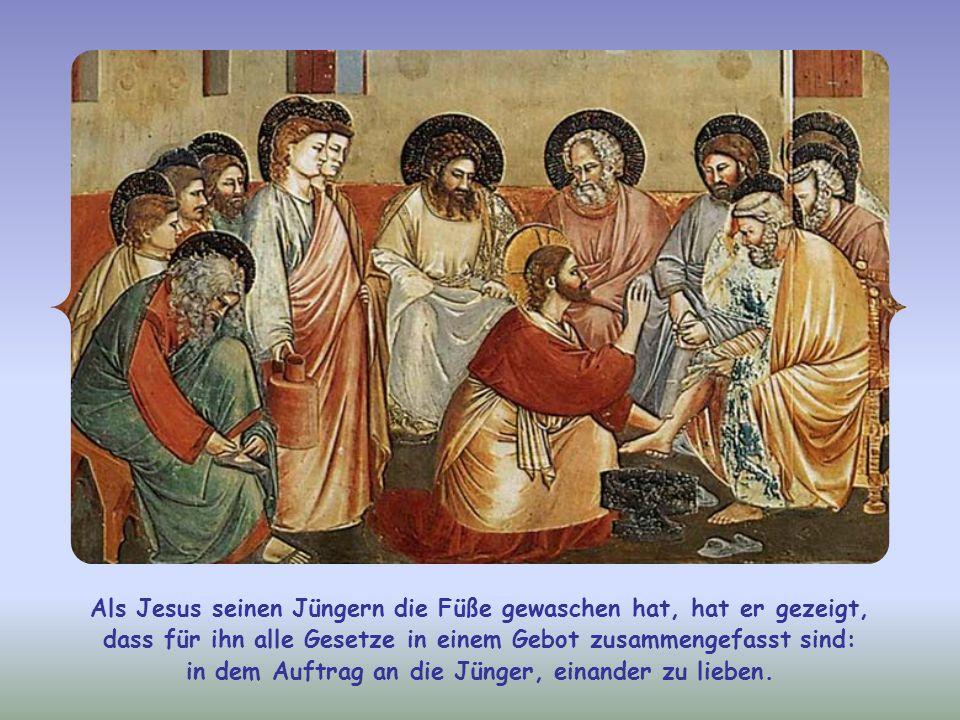 Im Johannes-Evangelium ist der Ausdruck meine Worte oft gleichbedeutend mit meine Gebote. Wir sollen also die Gebote Jesu befolgen. Jedoch nicht so, w