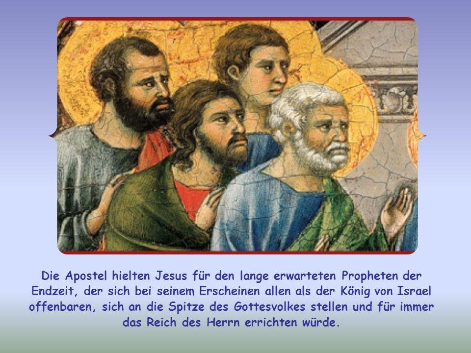 Da fragt ihn Judas (nicht Judas Iskariot), warum er sich nur ihnen und nicht allen Menschen offenbaren wolle. Der Apostel wünschte sich wohl ein publi