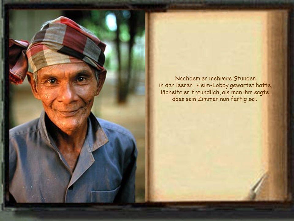 Seine Frau war kürzlich, im Alter von 90 Jahren, gestorben und er sah sich veranlasst, seine leer und zu gross gewordene Wohnung zu räumen. Er wollte