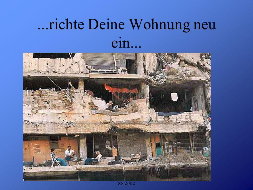 Detlef Krasemann DHV Speyer SS 2002...richte Deine Wohnung neu ein...