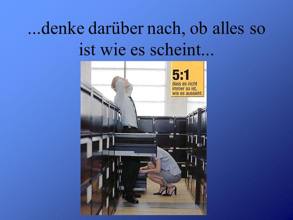 Detlef Krasemann DHV Speyer SS 2002...denke darüber nach, ob alles so ist wie es scheint...