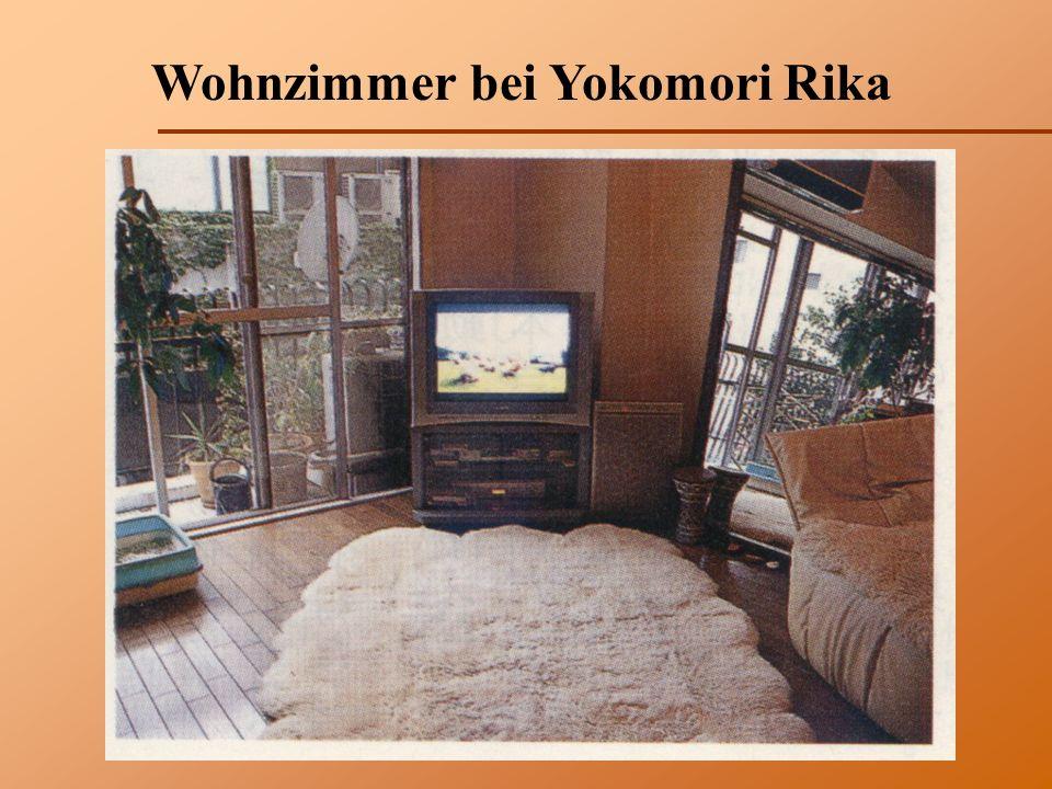 Wohnzimmer bei Yokomori Rika