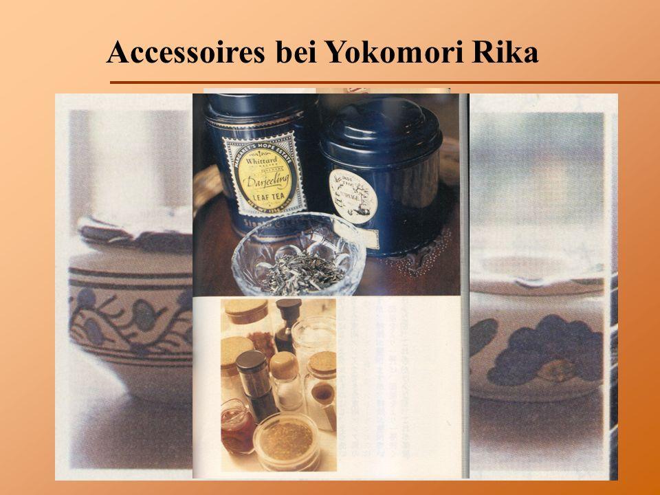 Accessoires bei Yokomori Rika