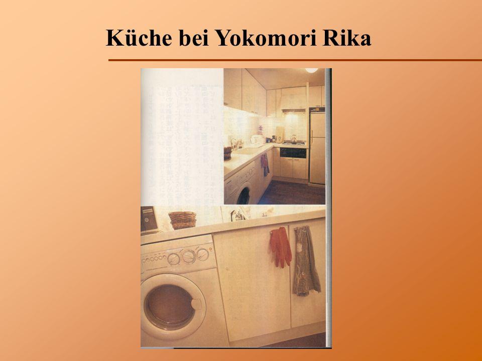 Küche bei Yokomori Rika