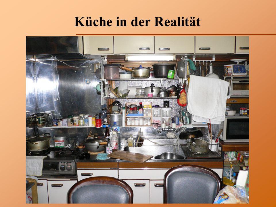 Küche in der Realität