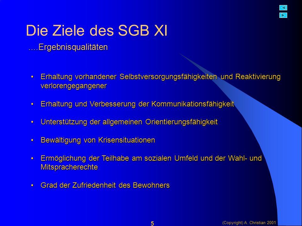 (Copyright) A.Christian 2001 16 Die Pflicht ist klar.....