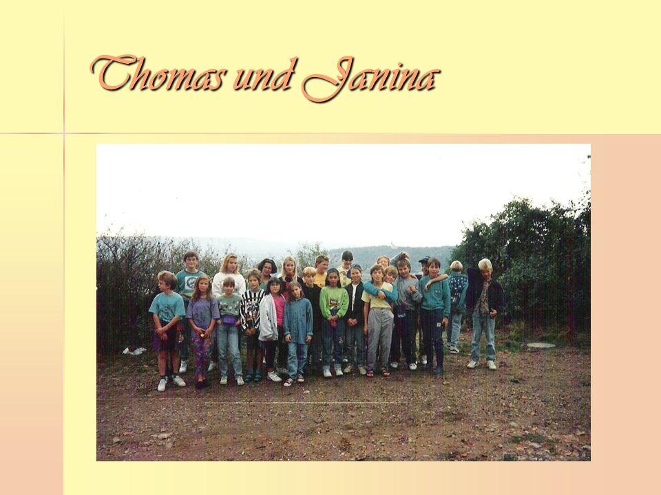 Thomas und Janina