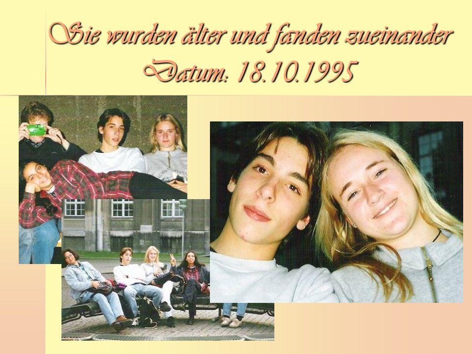 Sie wurden älter und fanden zueinander Datum: 18.10.1995