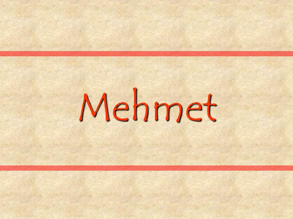 Mehmet ruft morgens seinen Chef an und sagt: