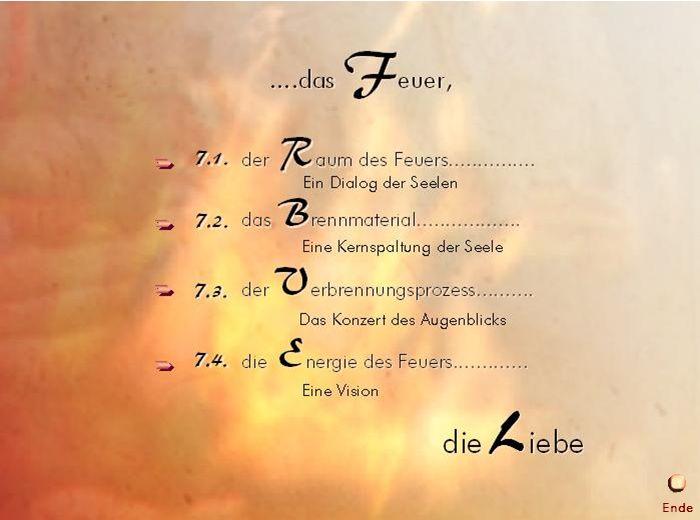 7. Das Feuer Ende