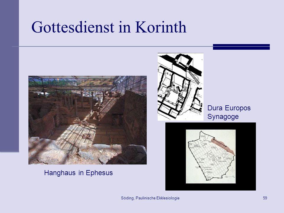 Söding, Paulinische Ekklesiologie60 Gottesdienst in Korinth Xanten