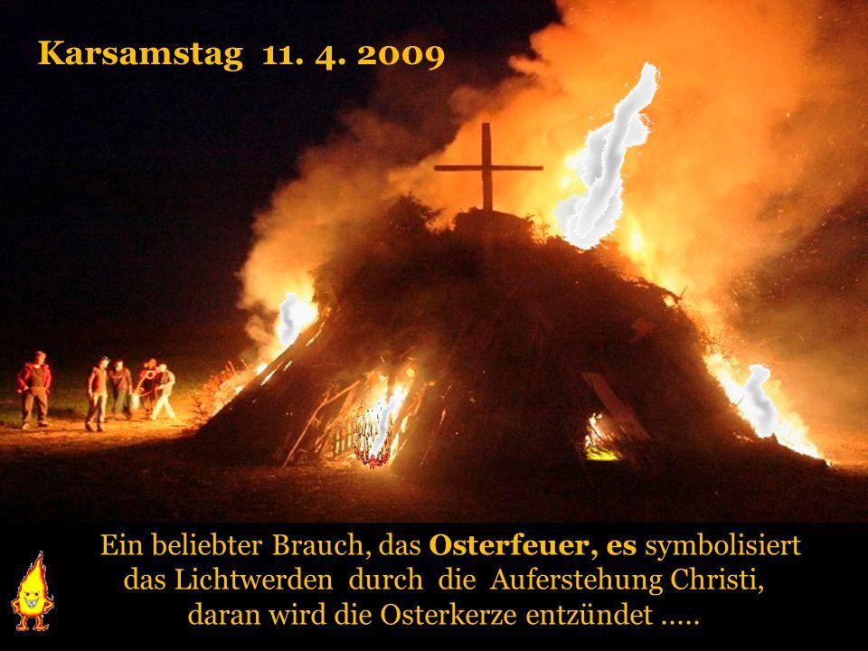 Am Karfreitag, 10. April 2009 wird der Leiden und Sterben von Christus gedacht Am Karfreitag, 10. April 2009 wird der Leiden und Sterben von Christus