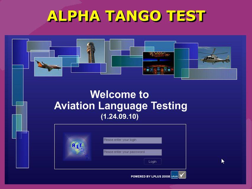 Schmidt 18 ALPHA TANGO TEST