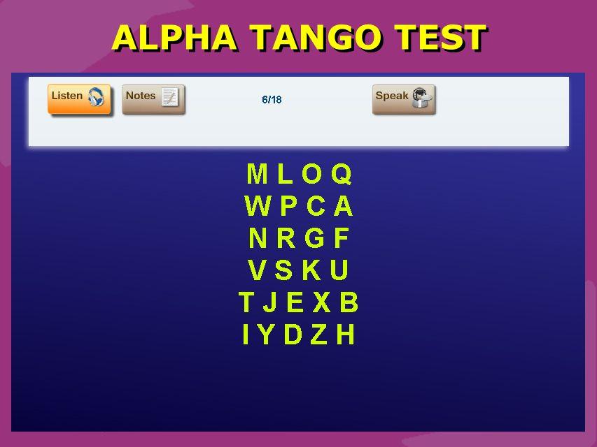 Schmidt 19 ALPHA TANGO TEST