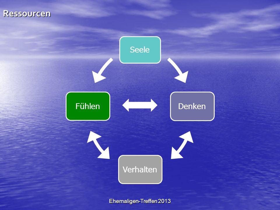 Ehemaligen-Treffen 2013Ressourcen Seele Denken VerhaltenFühlen