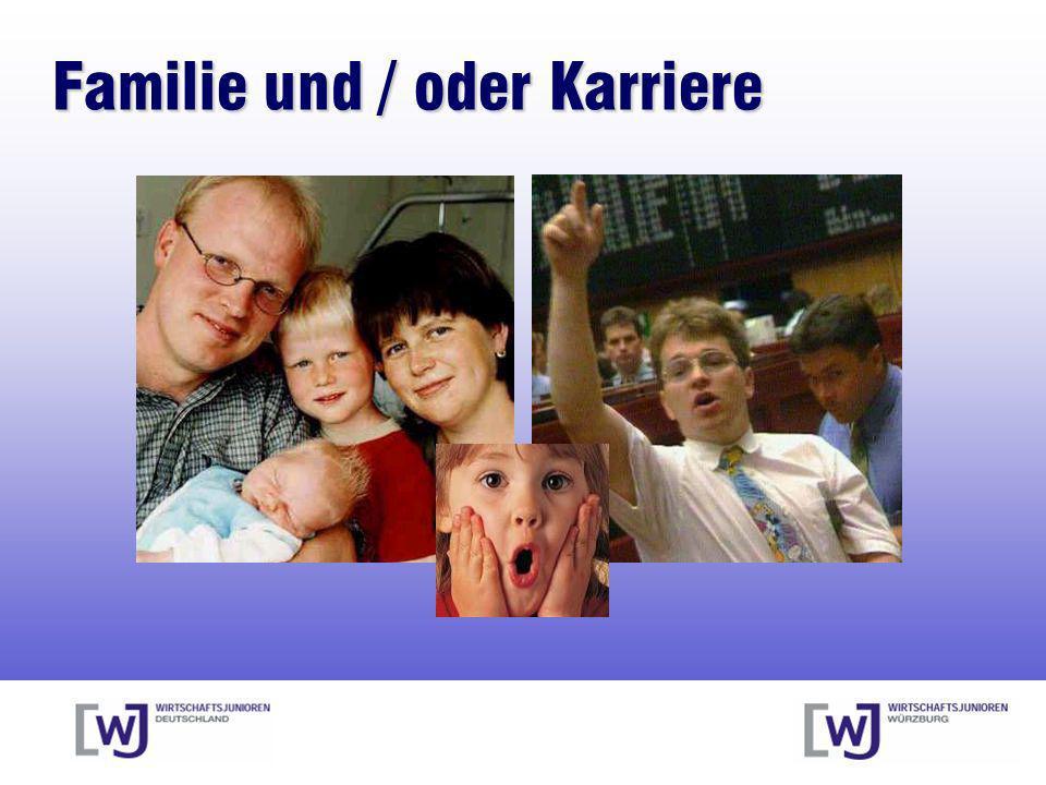 Familie und / oder Karriere