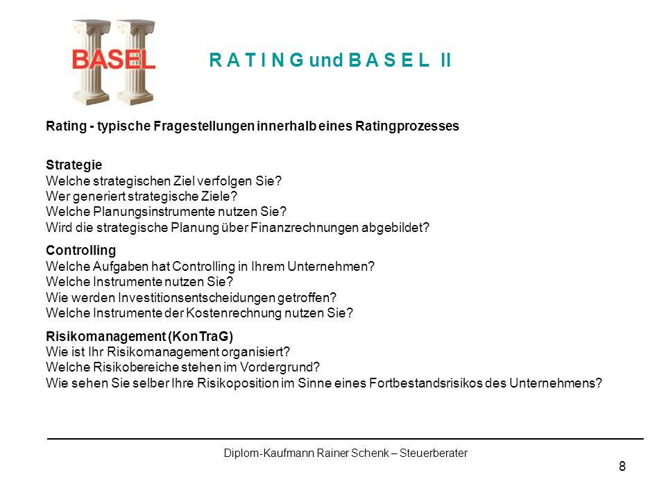9 Finanzstatus und Finanzrisiken Wie ist ihr Finanzmanagement strukturiert.