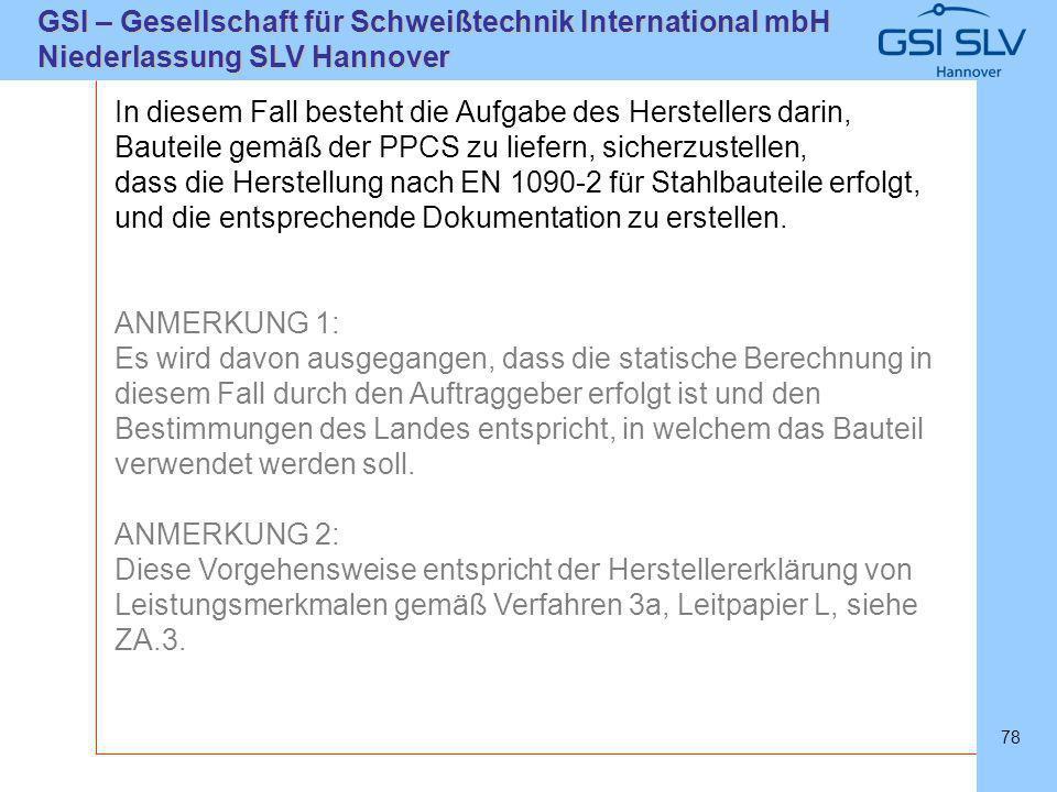 SLVHannoverSLVHannover GSI – Gesellschaft für Schweißtechnik International mbH Niederlassung SLV Hannover 78 In diesem Fall besteht die Aufgabe des He