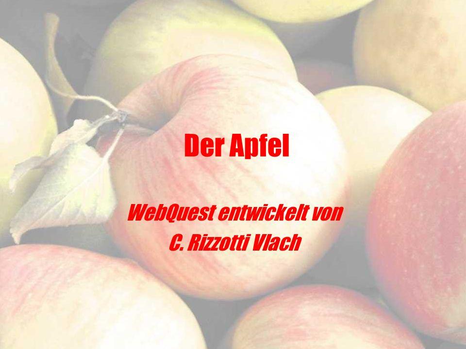 Der Apfel WebQuest entwickelt von C. Rizzotti Vlach