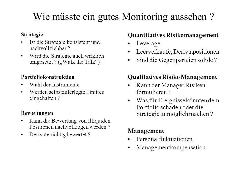 Wie müsste ein gutes Monitoring aussehen .