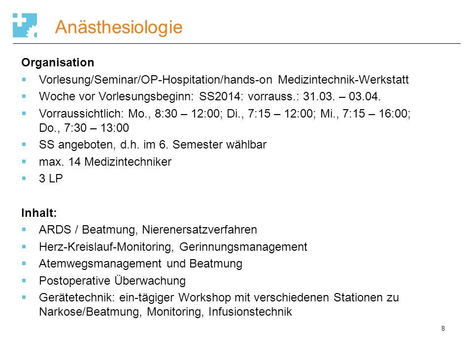 Immunologie 9 Organisation 1 Vorlesung: Einführungsvorlesung, Mo., 17:15-19 Uhr, Klausur 1 Seminar: Einführungsseminar, Do., ab 17 Uhr (bzw.