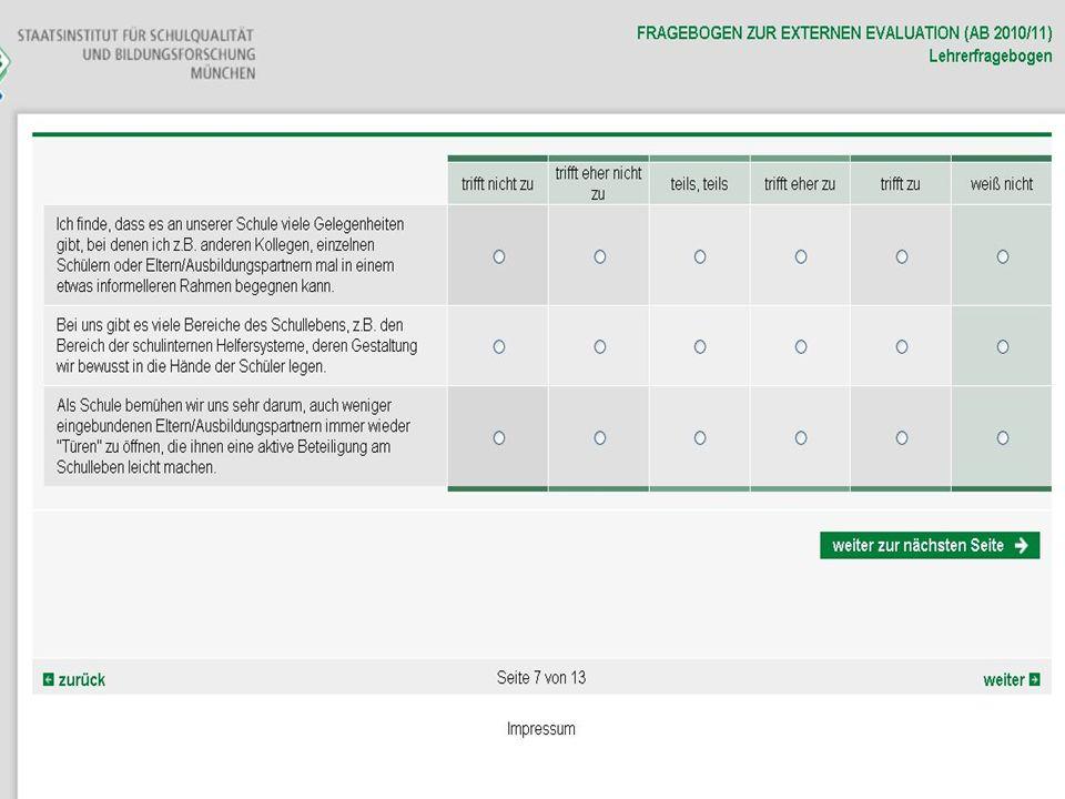 26.03.2014 FOSBOS - Evaluationsteam Südbayern13
