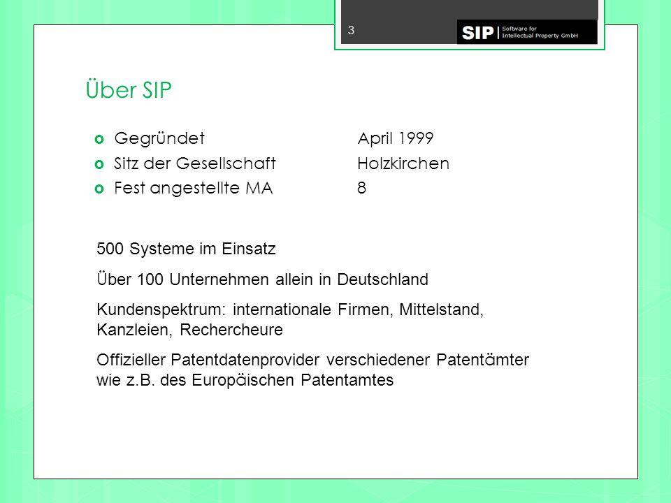 Übung Übung 1) Öffnen Sie die Demo Datenbank Erstellen Sie eine IPC Analyse über alle EP-Patente aus dem Segment PEMFC Übung 2) Erstellen Sie eine Segmentanalyse der obersten Segmente über die Siemens Patente der Demo Datenbank.