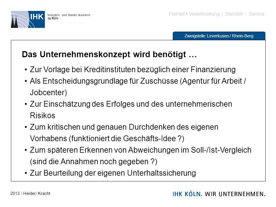 Freiheit + Verantwortung | Standort | Service Zweigstelle Leverkusen / Rhein-Berg Das Unternehmenskonzept wird benötigt … Zur Vorlage bei Kreditinstit